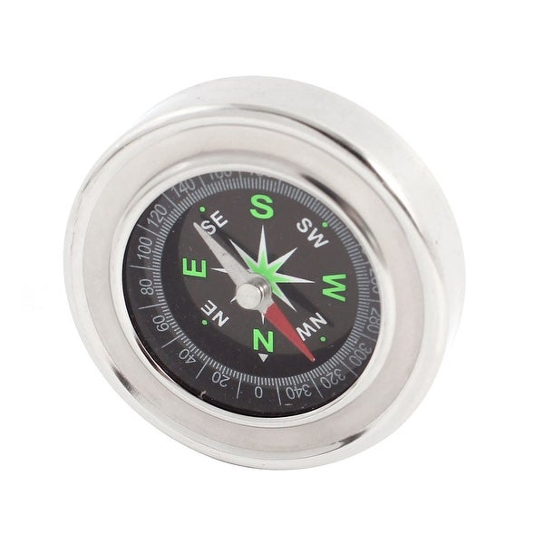 Unique Bargains 2.4 Dia Portable Sensitive Compass for Outdoor Camping Hiking Traveling