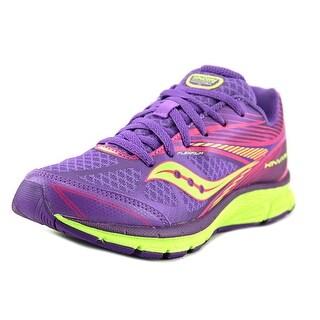 Saucony Kinvara 4 Youth Round Toe Synthetic Purple Running Shoe