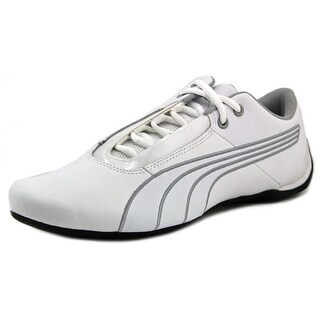 Puma Future Cat S1 NM Men Round Toe Leather White Sneakers