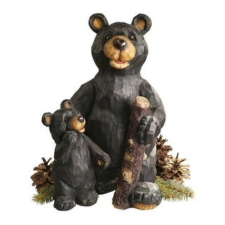 Design Toscano Black Forest Bear Pair Sculpture