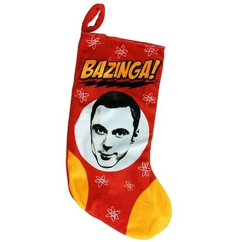 Big Bang Theory Sheldon Bazinga Stocking