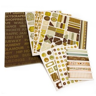 Paper & Embellishment Urban Coffee House Collection