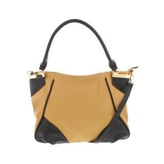 Kathy Ireland Womens Tote Handbag Faux Leather Signature Medium