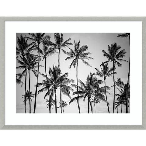 Palm Heaven by Design Fabrikken Framed Wall Art Print