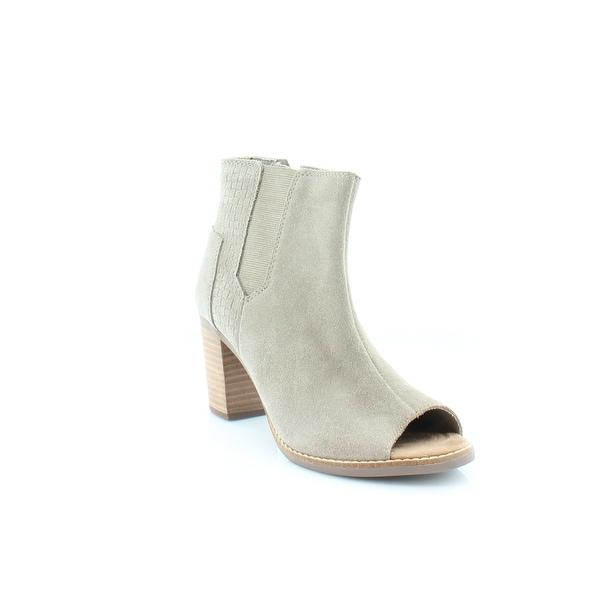 TOMS Classic Women's Heels Taupe