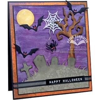 Karen Burniston Dies-Halloween Scene