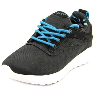 Globe Roam Lyte Kids Youth Round Toe Synthetic Black Skate Shoe