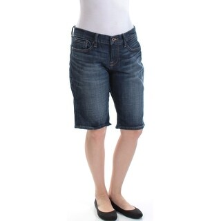 LUCKY BRAND Womens New 1305 Blue Pocketed Bermuda Casual Short 6 B+B