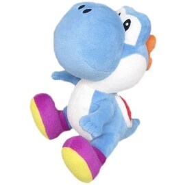 Nintendo 6-inch Super Mario Blue Yoshi Plush Toy
