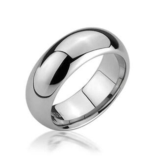 Mens Tungsten Wedding Band Comfort Fit 6mm