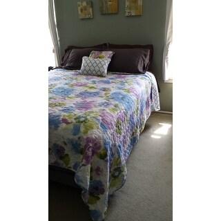 Calypso Reversible 5-piece Quilt Set