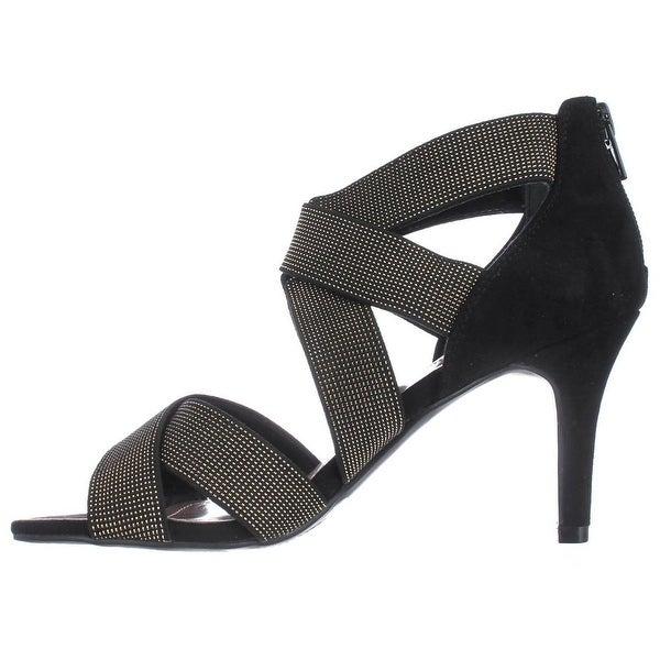 Style & Co. Womens Seleste Open Toe Ankle Strap Classic Pumps