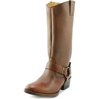 Matisse Harnes Women 2E Round Toe Leather  Mid Calf Boot