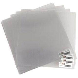 "Clear .020"" - Acrylic Sheets 12""X12"" 25/Pkg"