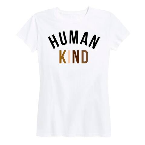 Human Kind - Women's Short Sleeve Classic Fit Tee