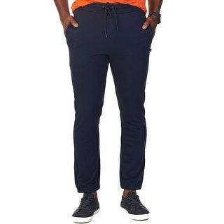 Nautica NEW Blue Mens Size Large L Drawstring Elastic Jogger Pants