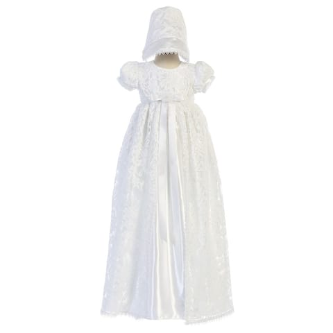 7485b1f81b814 Buy Girls' Christening Gowns Online at Overstock | Our Best Girls ...