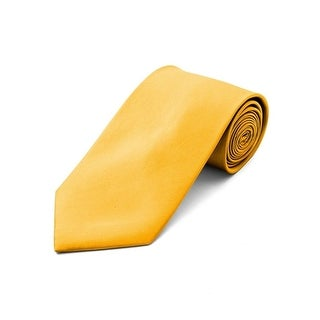 Men's Solid Color Polyester Neck Tie