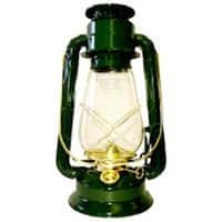 "V & O 210-76040 Oil Lantern, 10""H, Brass Trim"