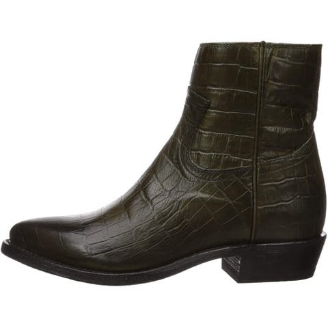 Frye Women's Shoes 3470806-BDY Leather Closed Toe Ankle Fashion Boots - 6.5