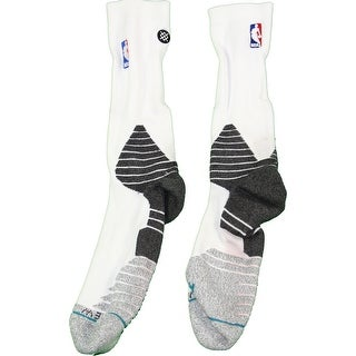 Donald Sloan Socks Brooklyn Nets 201516 Game Used 15 WhiteBlack Socks 1031