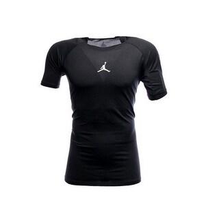 Jordan Men's Nike Dri-Fit Dominate Fitted Track/Field Shirt-Black-Xl