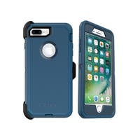 BLUE Bespoke Way OtterBox DEFENDER Case w/ Holster For iPhone 8 Plus & 7 Plus
