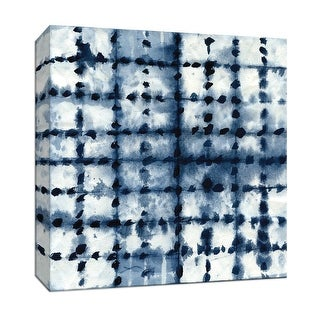 "PTM Images 9-147458  PTM Canvas Collection 12"" x 12"" - ""Shibori Patchwork"" Giclee Patterns and Designs Art Print on Canvas"