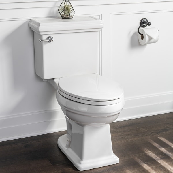 Miseno MNO240C Santi Two-Piece High Efficiency Toilet with Elongated Chair Height Bowl