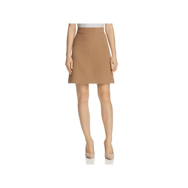 ca2881f6d92a4 Shop Theory Womens Camogie Mini Skirt A-Line Wool - Free Shipping ...