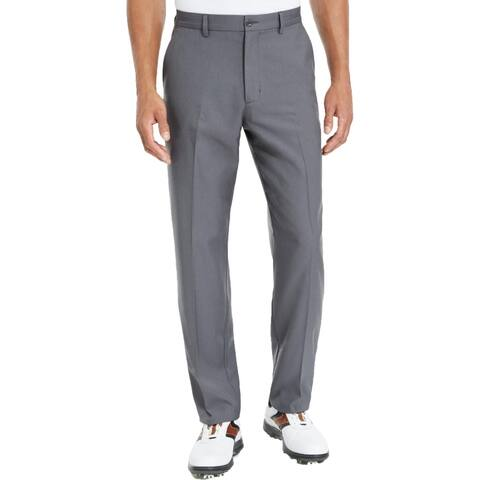Greg Norman Mens Moisture Wicking Professional Dress Pants - Dark Gray Heather