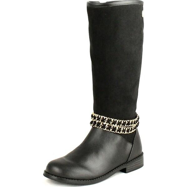 Ivanka Trump Girls Juniors Fashion Chain Boots - Black