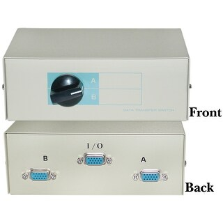 Offex AB 2 Way Switch Box, HD15 (VGA) Female