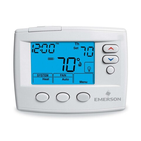 White-Rodgers 1F80-0471 Digital 5/1/1 and 5/2 Day Programmable Thermostat with A - na - N/A
