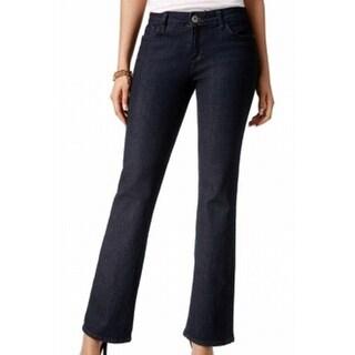 Tommy Hilfiger NEW Indigo Blue Women's Size 8 Regular Boot Cut Jeans