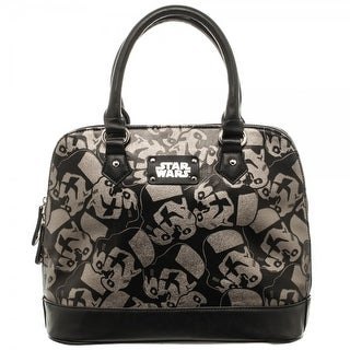 Star Wars Stormtrooper Handbag with Darth Vader Metal Charm