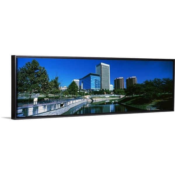 Shop Panoramic Images Floating Frame Premium Canvas With Black Frame