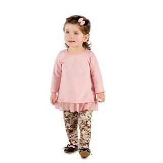 Pulla Bulla Baby Girl Long Sleeve Shirt Kitty Graphic Tee