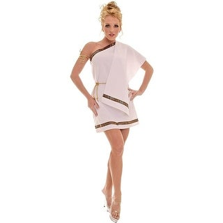 Underwraps Womens Toga Halloween Party Greek Goddess Costume - o/s