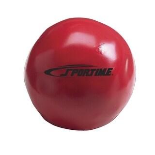 Sportime Yuck-E-Medicine Ball, 4-1/2 Inches, 1-1/10 Pounds, Red