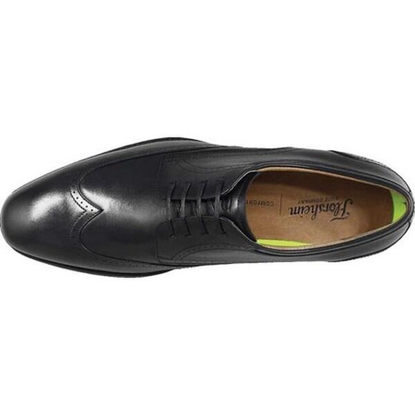 Amelio Wingtip Oxford Black Leather