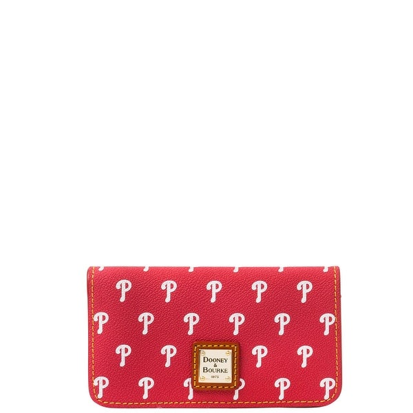 Dooney & Bourke MLB Phillies Large Slim Phone Case (Introduced by Dooney & Bourke at $78 in May 2015) - Red