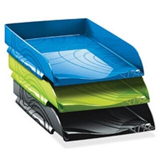 CEP CEP1060000351 Origins Collection Letter Tray, Ocean Blue