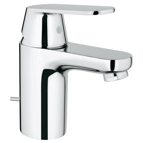 Grohe 32 875 A Eurosmart 1.2 GPM Cosmopolitan Single Hole Bathroom Faucet with SilkMove and WaterCare Technologies