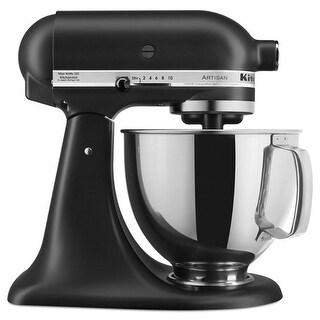 KitchenAid KSM150PSBM 5 qt. Artisan Series Stand Mixer - Black Matte