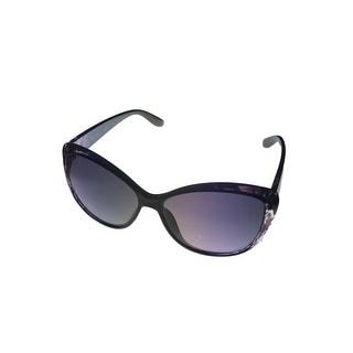 Kenneth Cole Reaction Women Plastic Sunglass Black Fade, Gradient Lens KC1228 5B - Medium