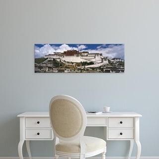 Easy Art Prints Panoramic Images's 'Potala Palace Tibet' Premium Canvas Art