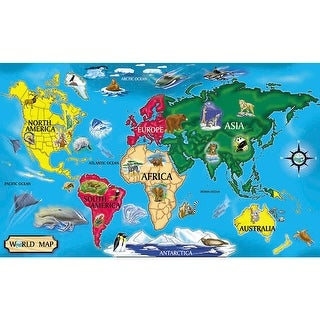 Floor Puzzle World Map