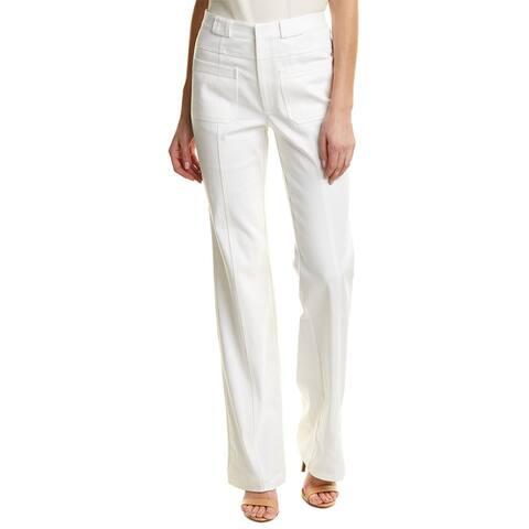 Nanette Lepore Blue & Righteous White Straight Leg