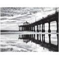 ''Manhattan Beach Pier'' by Anon Coastal Art Print (14 x 18.25 in.) - Thumbnail 0